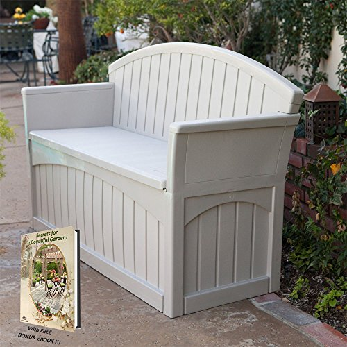 Outdoor Storage Bench and Patio Seat Garden Furniture ...