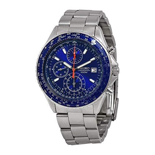 Seiko Men's SND255 Tachymeter - Flight Master Watch