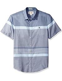 Men's Short Sleeve Bold Stripe Shirt