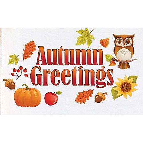 Collections Etc Autumn Greetings Garage Door Magnet