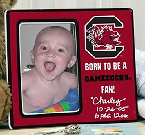 South Carolina Gamecocks Born To Be A Fan Ceramic Picture Frame 4