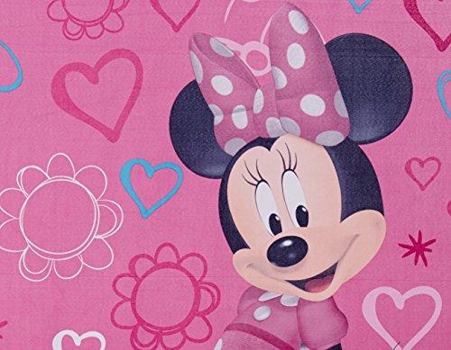 "Disney Minnie Mouse Window Panels Curtains Drapes Pink Bow-tique, 42"" x 63"" each"