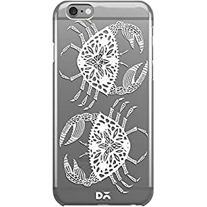 DailyObjects White Crab Clear Case For iPhone 6