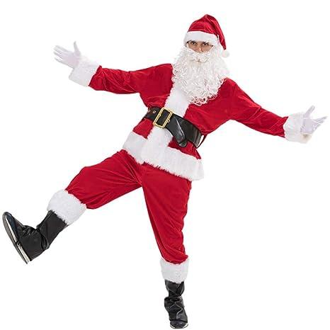 shuhong Papá Noel para Hombre De Navidad De Santa Claus 7 ...