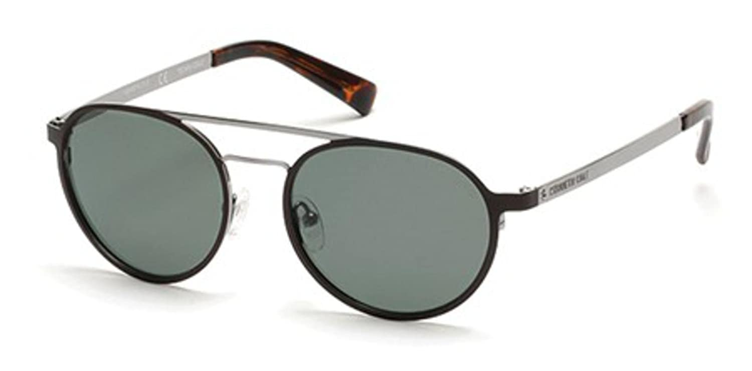 Sunglasses Kenneth Cole New York KC 7213 47R light brown//other//green polarized