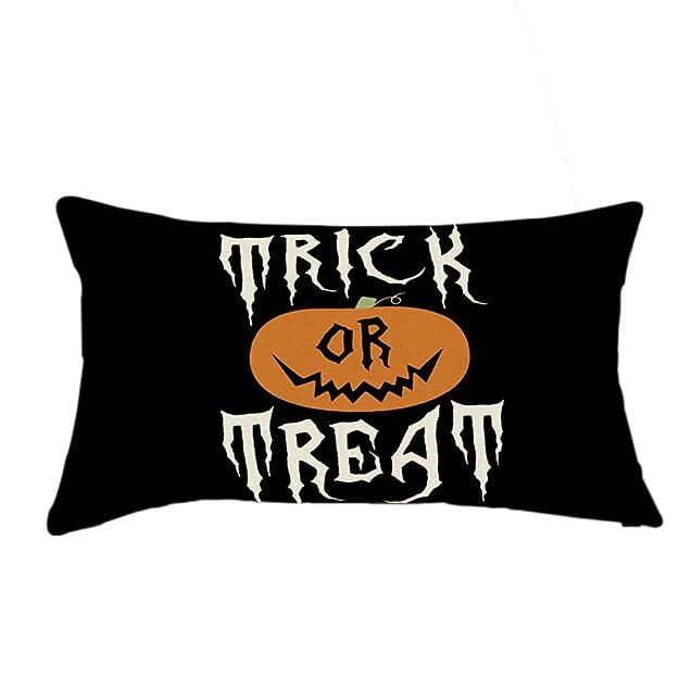 Amazon.com: Cojines Halloween Linen Pumpkin Ghosts Home ...