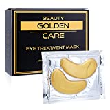 GOLDEN CARE Gold Collagen Eye Treatment Mask Reducing Dark Circles, Puffiness, Bags, Eye Pads With Anti-aging, Wrinkle Care & Moisturizing Properties, Gifts for Women & Men (16 PAIRS) For Sale