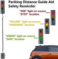 CICMOD Parking Assistant Sensor System for Home Garage Car Park Assist LED Safe-Light Stop Indicators Beep Alerts