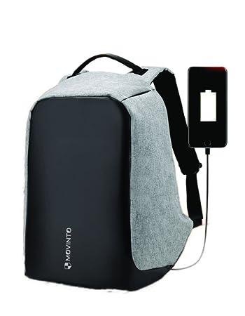 de21f198c0748 B26-Schwarz Schule Rucksack Herren Rucksack Laptop Rucksack mit USB Lade  Sporttaschen   Rucksäcke