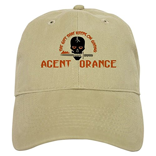 Agent Hat - CafePress - Agent Orange: The Gift Cap - Baseball Cap with Adjustable Closure, Unique Printed Baseball Hat