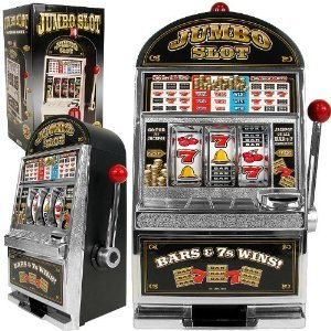 John N. Hansen Company Jumbo Slot Machine Bank