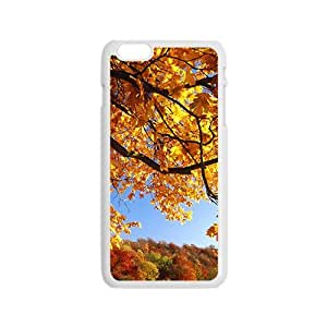 Personalized Creative Cell Phone Case For iPhone 6,yellow forest glam autumn view wangjiang maoyi