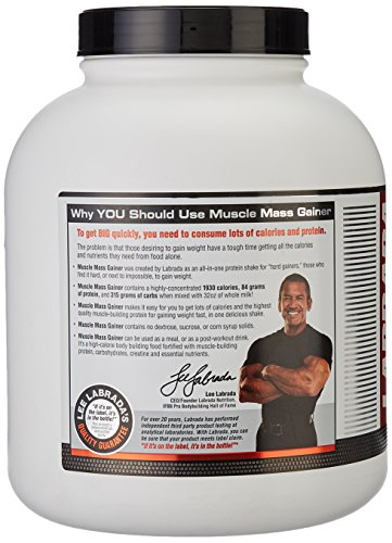 Labrada Nutrition Muscle Mass Gainer