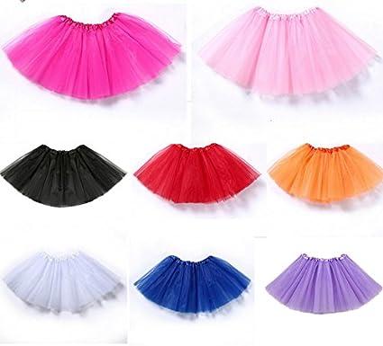 NOVATEC - Conjunto de falda y lazo para bebé, color rojo y caramelo, para