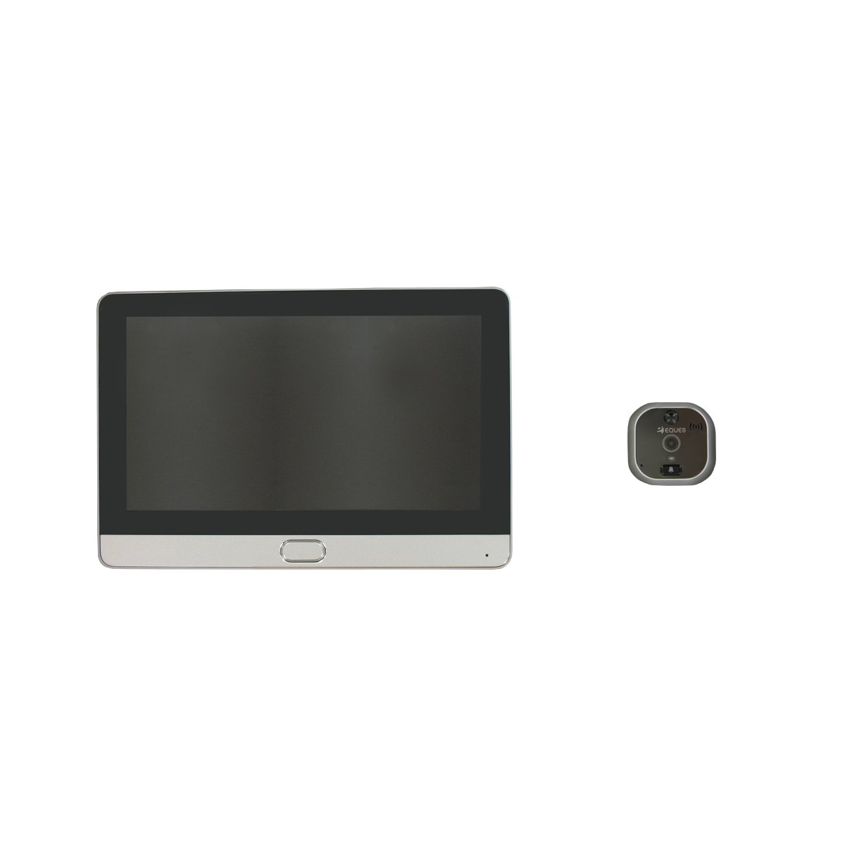 Mirilla de puerta digital Wi-Fi, con pantalla táctil y vídeo-interfono Eques R22 Espy2: Amazon.es: Bricolaje y herramientas