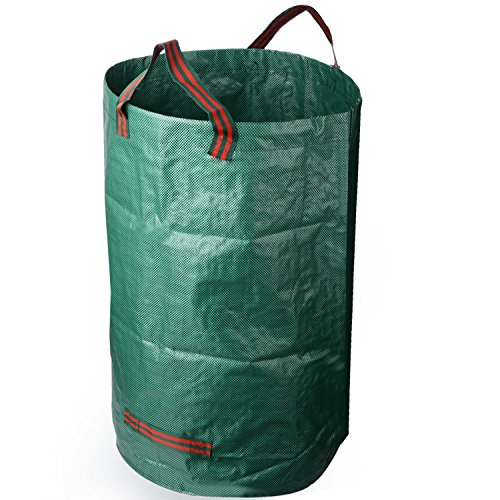 Mokylor 2-Pack 32 Gallons Garden Bag - Reuseable Heavy Duty Gardening Bags, Lawn Pool Garden Leaf Waste Bag by Mokylor