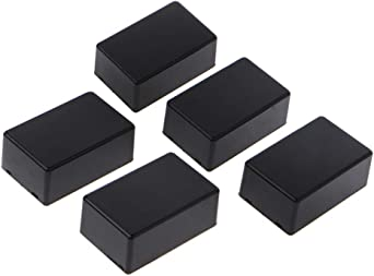 JENOR - Caja de plástico con adaptador para proyectos electrónicos (5 unidades, 70 x 45 x 30 mm): Amazon.es: Iluminación