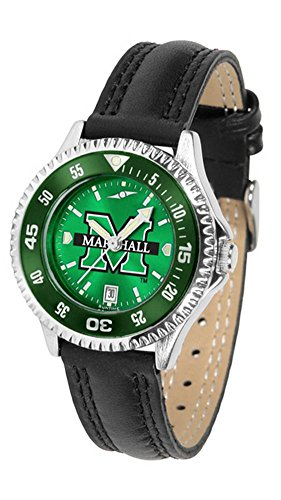 (Marshall Thundering Herd Competitor AnoChrome Women's Watch - Color Bezel)