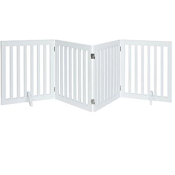 Amazon.com: Puerta para perro unipaws, puerta de madera ...