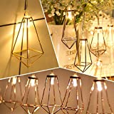 LEDMOMO 2.2M 20 LEDs Lamp String Festival Party Decoration Lantern - Warm White Light