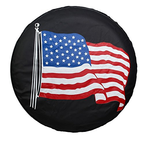 flag spare tire cover - 9