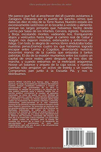 Zaragoza: Episodios nacionales. Serie primera: Amazon.es: Benito Pérez Galdós, Margaret Lessing: Libros