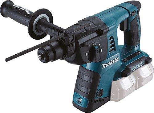 Makita Akku-Bohrhammer DHR263ZJ (für SDS-PLUS 2x 18 V, ohne Akku und Ladegerät im Makpac)