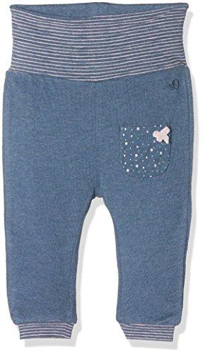 s.Oliver Unisex Baby Jogginghose 65.610.75.2649, Blau (Blue Melange Aop 57W0), 74