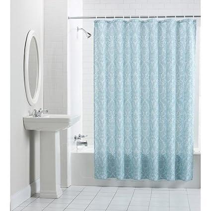 Mainstays Persia Fabric Shower Curtain
