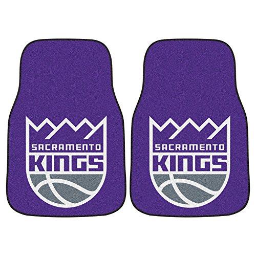 Fanmats Sports Team Logo National Basketball Association Sacramento Kings 2 - piece Carpeted Car Mats 18