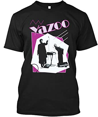 09e6ef979 Amazon.com: Yazoo 80s Band Retro Pop 1980s New Wave Synth Alison Moyet  T-Shirt|Sweatshirt: Clothing