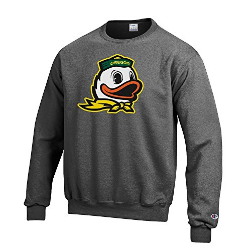 Oregon Ducks Crewneck Sweatshirt Icon Charcoal - XXL