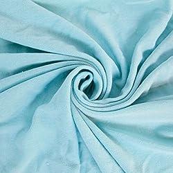 Aqua Stretch Jersey With Merino-like Wool Brush Hacci Brush Knit Fabric