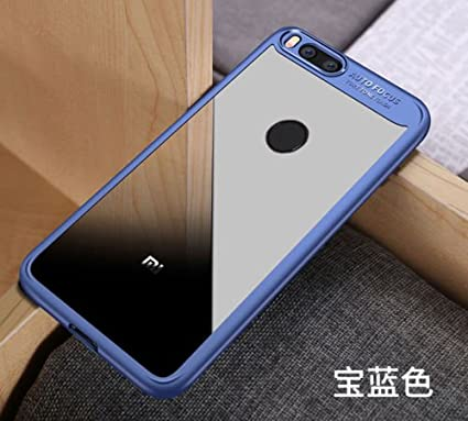 best sneakers 9ba1f acb3e iPaky Transparent Bumper Case for Xiaomi Mi A1: Amazon.in: Electronics