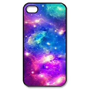 Galaxy Space Universe Brand New Cover Case for Iphone 4,4S,diy case cover ygtg553213