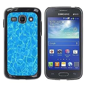 Be Good Phone Accessory // Dura Cáscara cubierta Protectora Caso Carcasa Funda de Protección para Samsung Galaxy Ace 3 GT-S7270 GT-S7275 GT-S7272 // Water Surf Sun Summer Sea Reflect