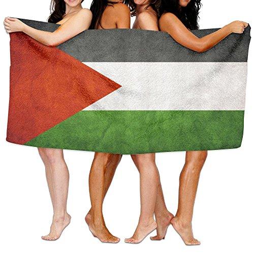 チャレンジスリーブバイオリンビーチバスタオル バスタオル パレスチナの旗 速乾タオル 海水浴 旅行用タオル 多用途 おしゃれ White