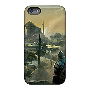 JoannaVennettilli Apple Iphone 6 Shockproof Hard Phone Case Provide Private Custom Nice Assassins Creed Revelations Ezio Pattern [MZD9193Dtta]
