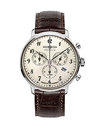 Zeppelin Mens Watch Serie LZ129 Hindenburg Chronograph 7086-4