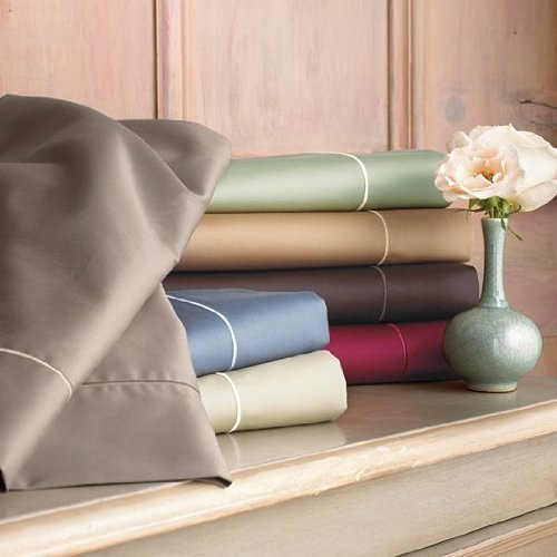 amazoncom royal velvet 400tc full sheet set camel color pillowcase and sheet sets everything else - Royal Velvet Sheets