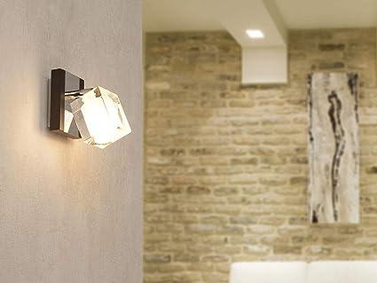 Faro 40938 alamo lampe applique wenge et chrome: amazon.fr