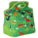 GOPRENE Insulated Lunch Bag For Kids [ Fits: Bento Box for Kids ] Neoprene Lunch Bag | Dinosaur | Lunch Box Fits Easily - [10.2 x 8.2 x 6.5 in. inside] for Boys and Girls Ages 3-10 Years