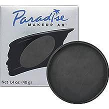 Mehron Makeup Paradise AQ Face & Body Paint, BLACK: Basic Series – 40gm