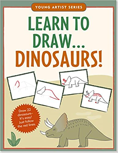Learn To Draw Dinosaurs Easy Step By Step Drawing Guide Young