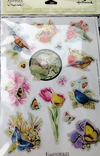 Marjolein Bastin Nature's Sketchbook Layered Paper Stickers