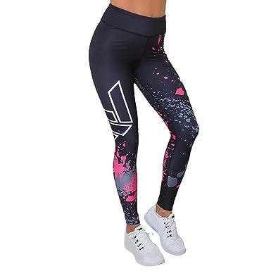HaiDean Pantalones De Yoga Impresos De Pantalones para Mujer ...