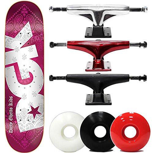 訳あり DGK(ディージーケー) DGK スケボー コンプリートセット ディージーケー BANDANA RED RED 8.25x32インチ スケボー 選べるトラックウィール DGK DGK (レンチ+ケースサービス!) スケートボードコンプリート B07BZ11LCZ ブラックトラック5.2|ソフト56mmホワイト ソフト56mmホワイト ブラックトラック5.2, 文具文房具のKDM:8da3a5b9 --- a0267596.xsph.ru