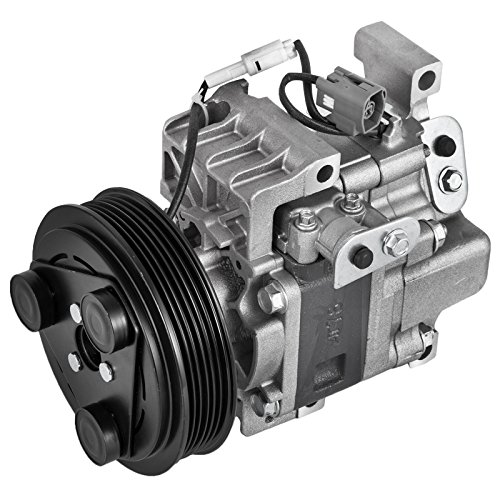 Mophorn CO 11308C Universal Air Conditioner AC Compressor GP9A61450D 0610345 For 2006-2009 Mazda 3 & Mazda 6 Mazda speed 4Cyl 2.3L 97470 98470