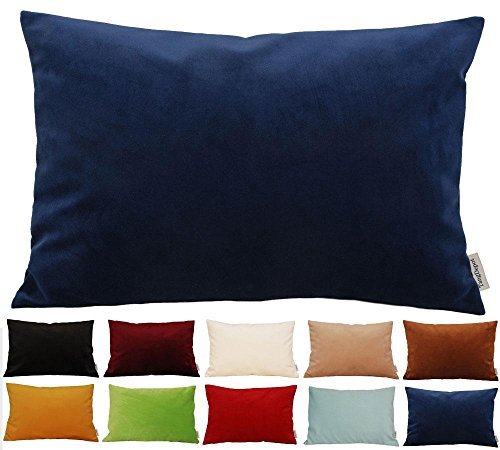 Throw Pillow Options : TangDepot? Solid Velvet Throw Pillow Cover/Euro Sham/Cushion Sham, Super Luxury Soft Pillow ...