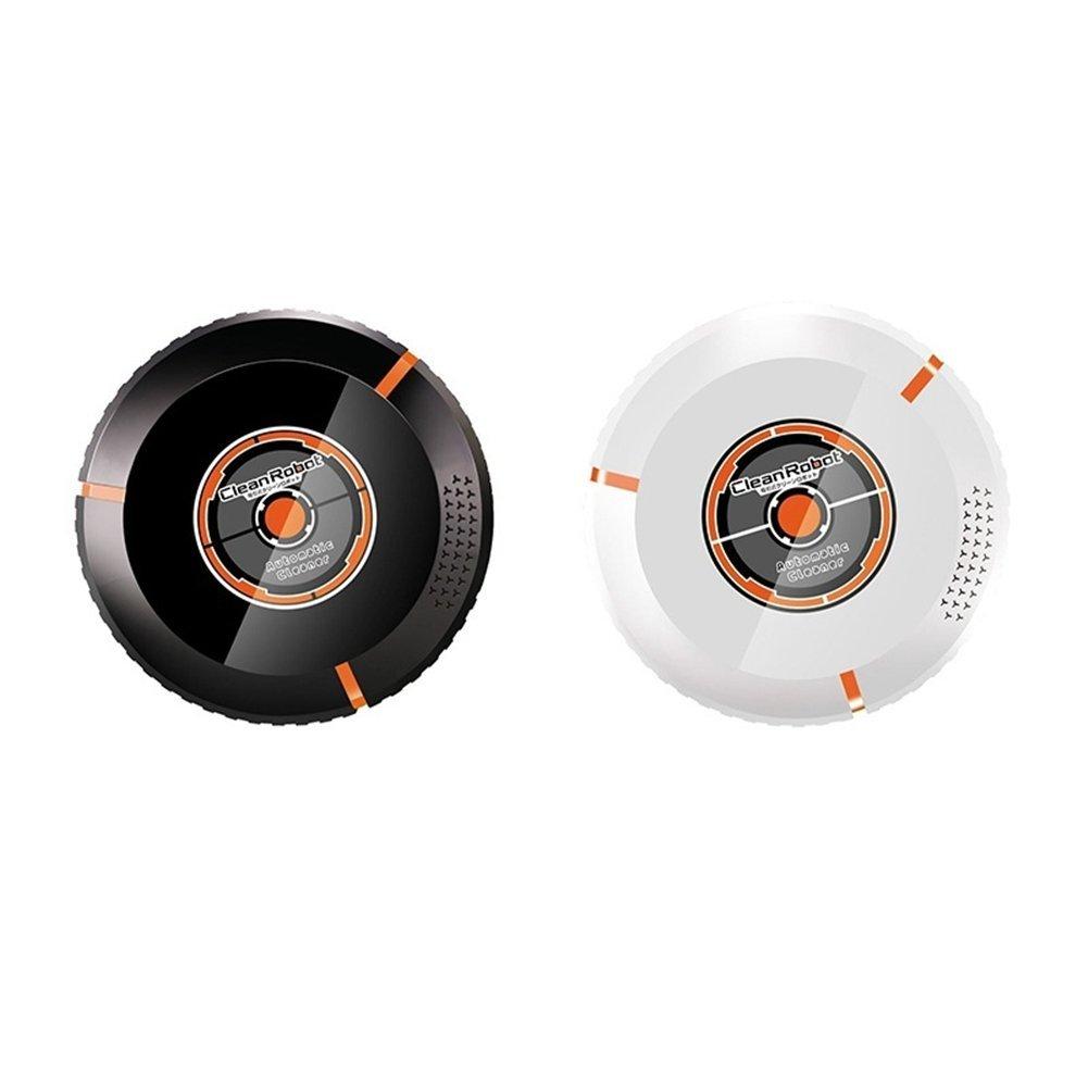 Clock Robot Aspirador Completo Electrodomésticos Inteligentes Smart Intelligent Sweep Negro/Blanco,Black: Amazon.es: Hogar